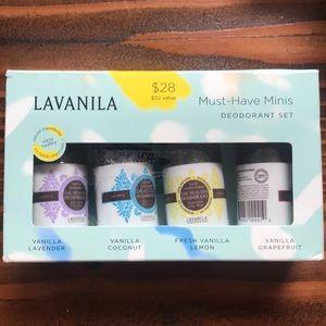 Other - LaVanila mini deodorant set